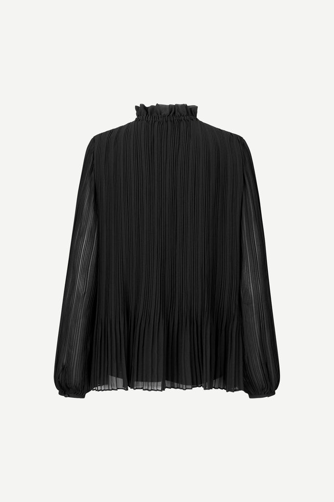 Lady Is Blouse - Black