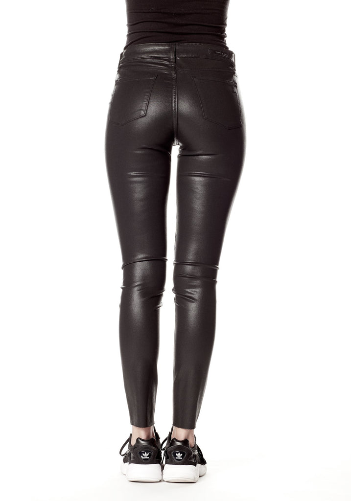 Hilary High Rise Ankle Skinny Hunter