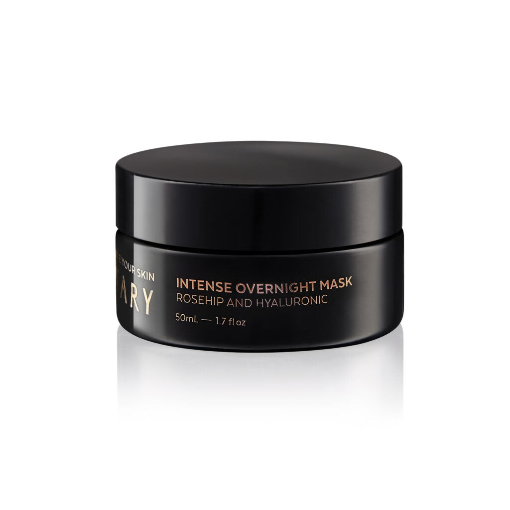 Intense Overnight Mask - Rosehip & Hyaluronic - 50ml