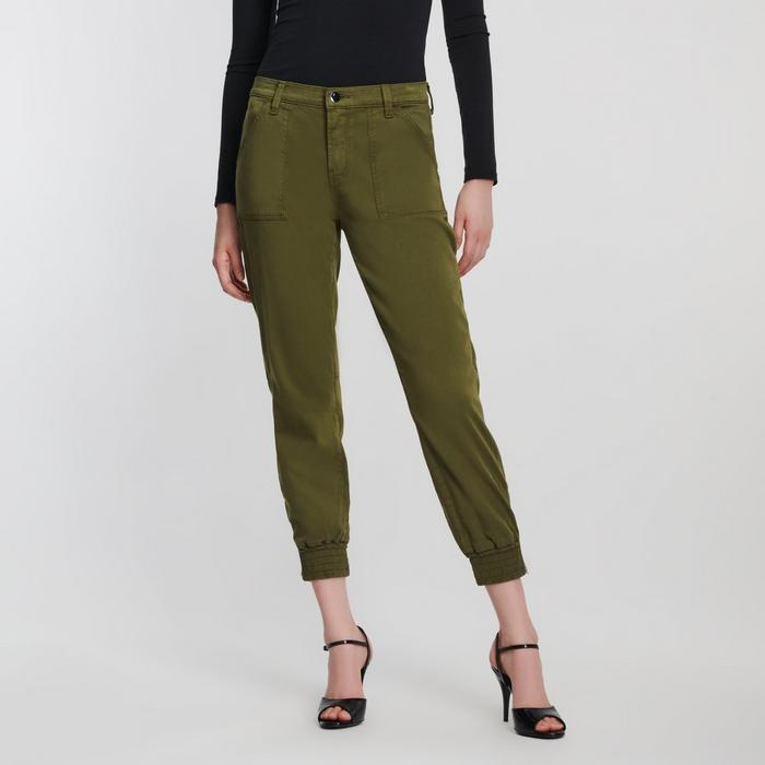Arkin Zip Ankle Trouser in Dark Zeal