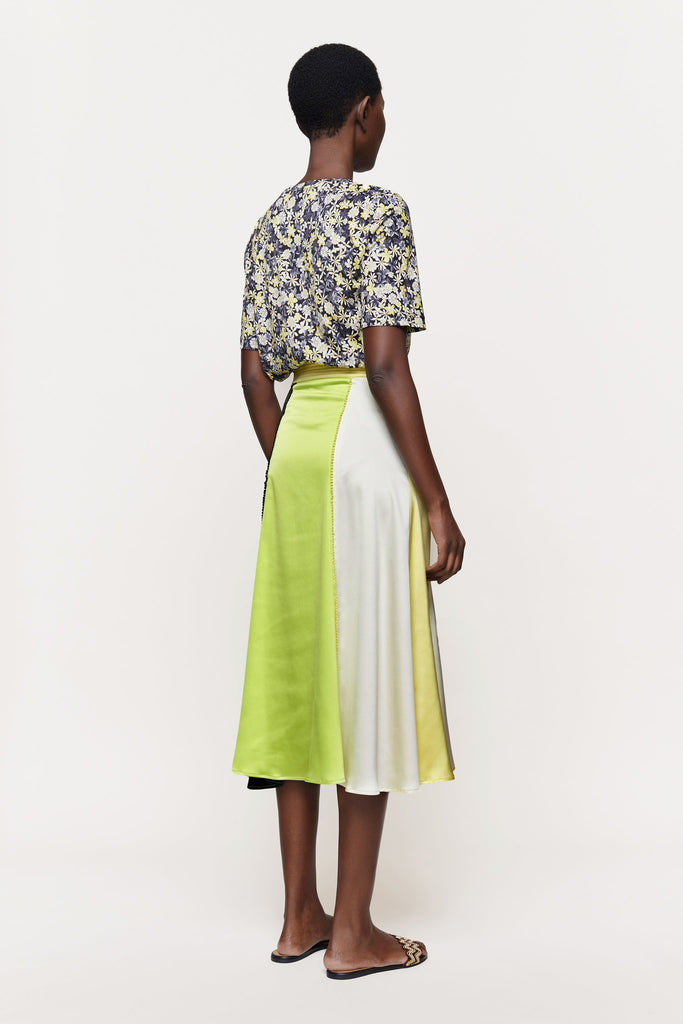 Jada Sheen Cady Mix Skirt