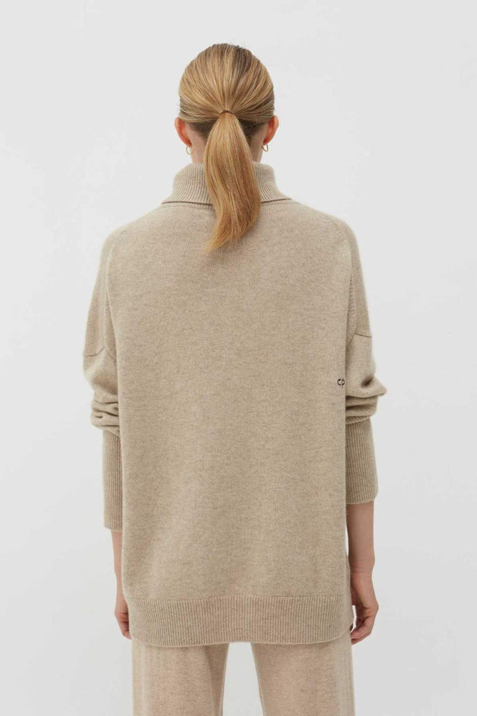The Relaxed Polo in Oatmeal