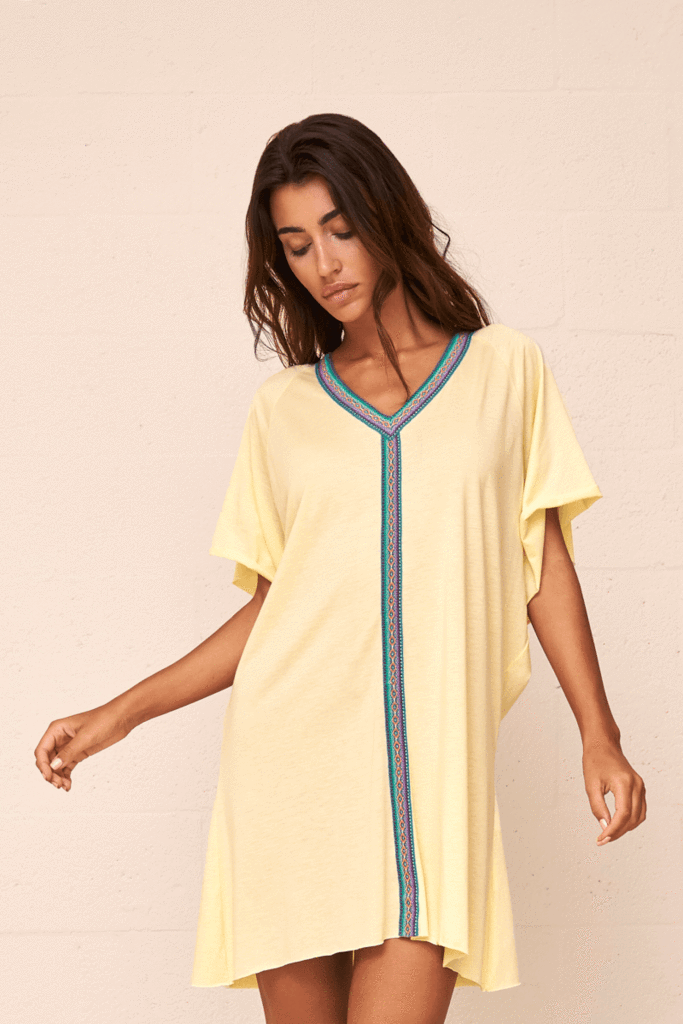 Mini Pima Abaya Sorbet Lemon