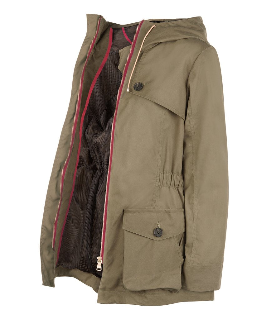 Pop Wax Parka in Khaki