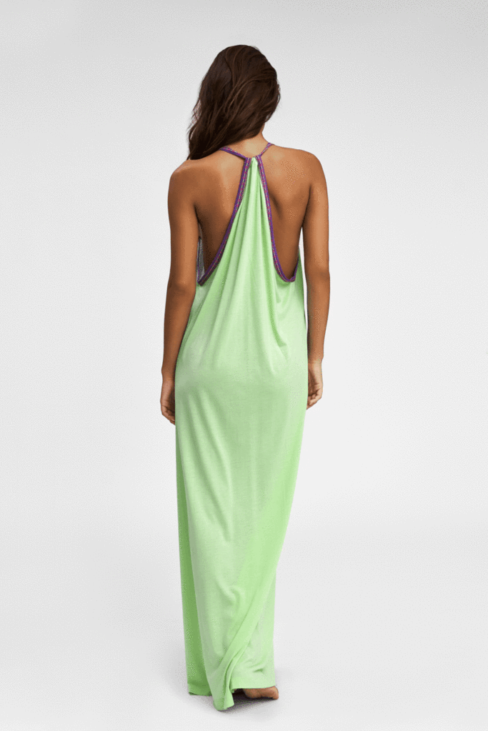 Pima Sundress in Pistachio