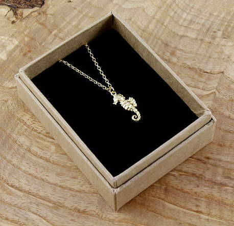 Seahorse Gold Plated Bracelet