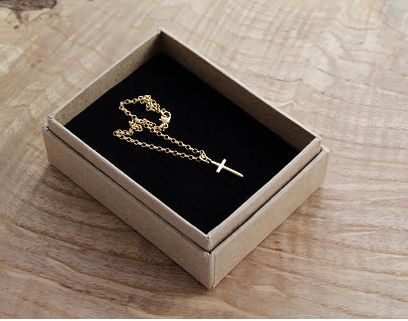 Cross Gold Plated Bracelet
