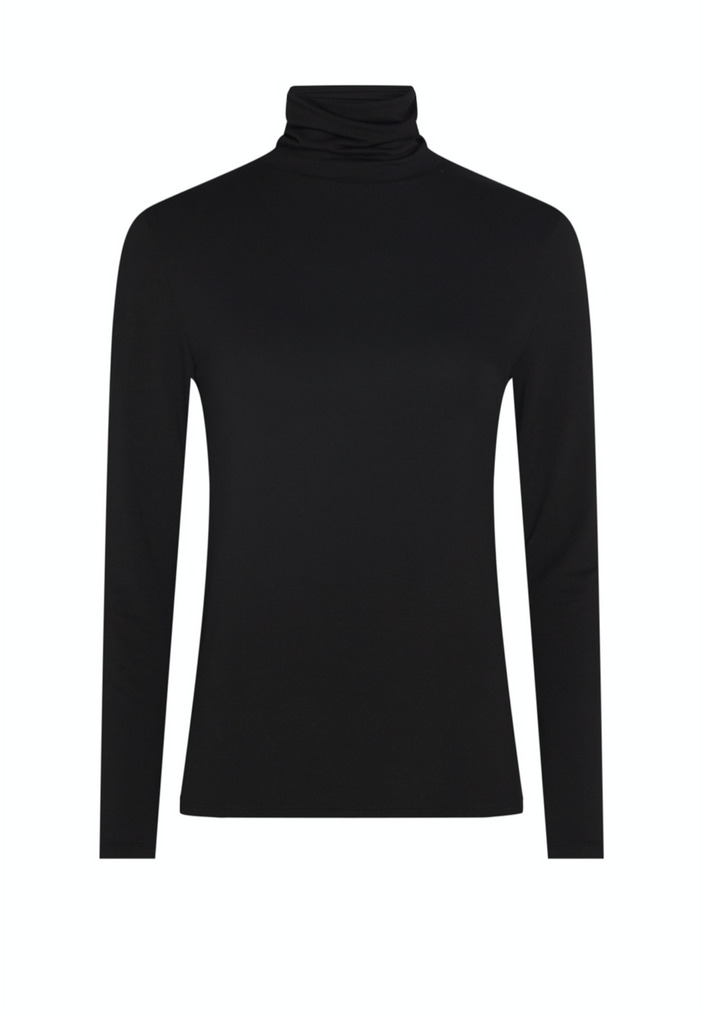 Jane Turtleneck in Black