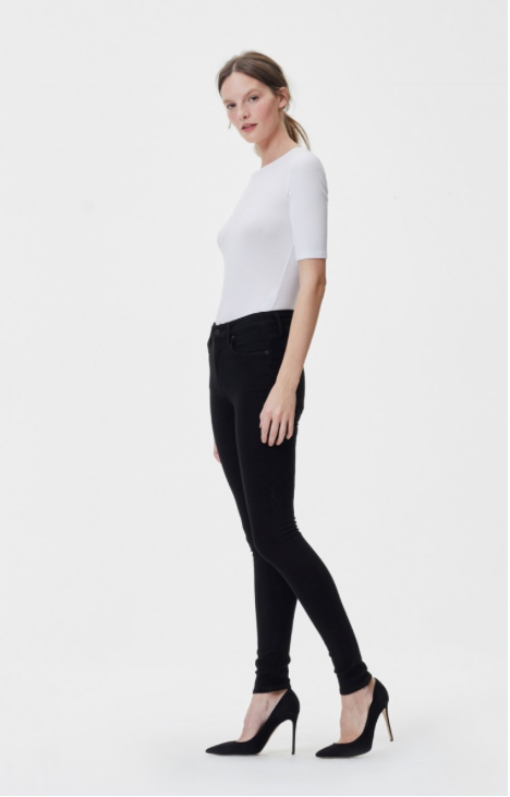 Rocket High Rise Skinny in All Black