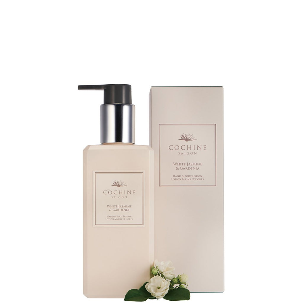 Hand & Body Lotion - White Jasmine & Gardenia