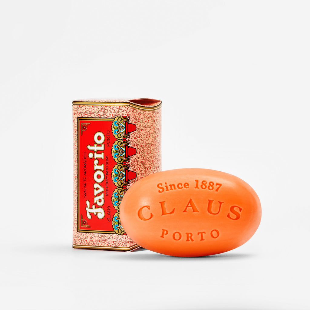 Favorito Red Poppy Soap