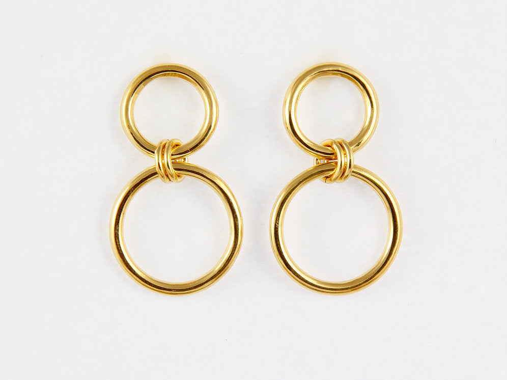 Suki Gold Plated Earrings