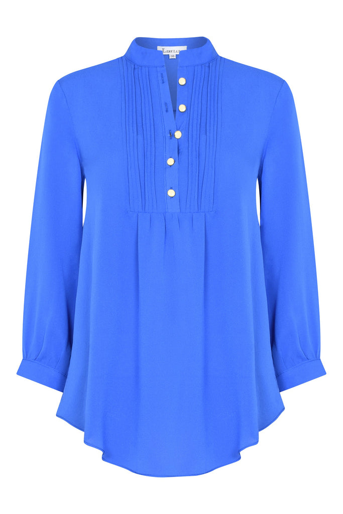 Delphine Top in Powder Blue