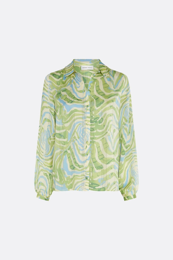 Frida Blouse in Zesty Zebra Print