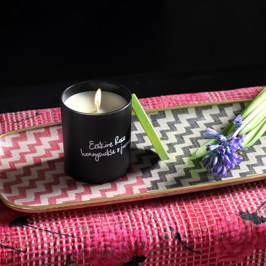 Honeysuckle and Jasmine Scented Candle