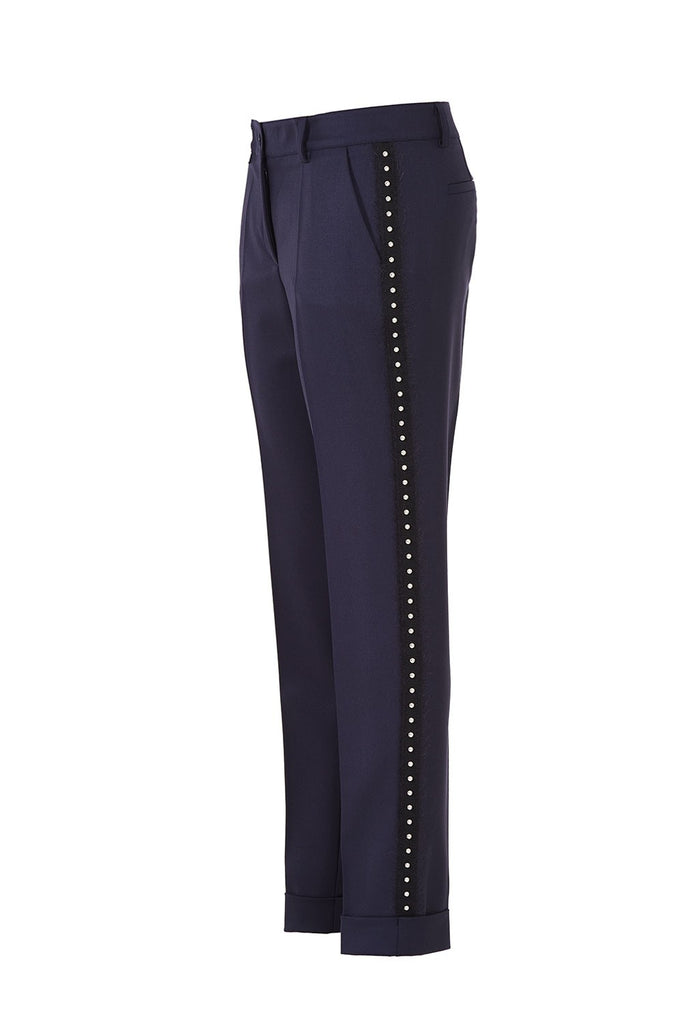 Lilu Trousers in Navy