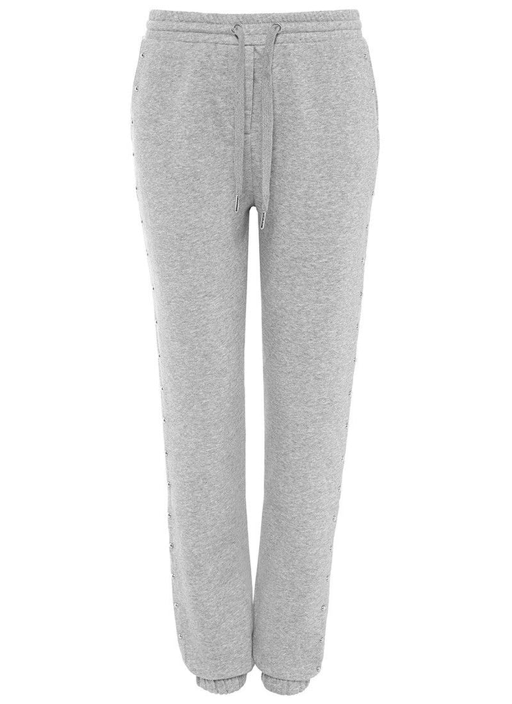 Studs all over Sweatpants in Grey Heather