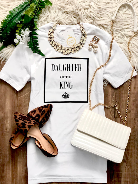 Daughter Of The King Short Sleeve Shirt Unisex