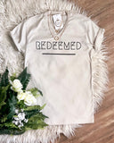 Redeemed Short Sleeve V Neck Shirt Unisex