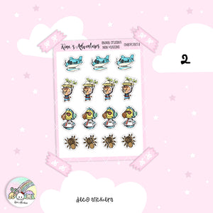 Stickers Sheet- Animal Crossing II - Characters