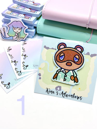 Magnetic Bookmark- Animal Crossing