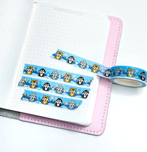 Load image into Gallery viewer, Capsule Collection - Winter Critters washi tape - LOW STOCk