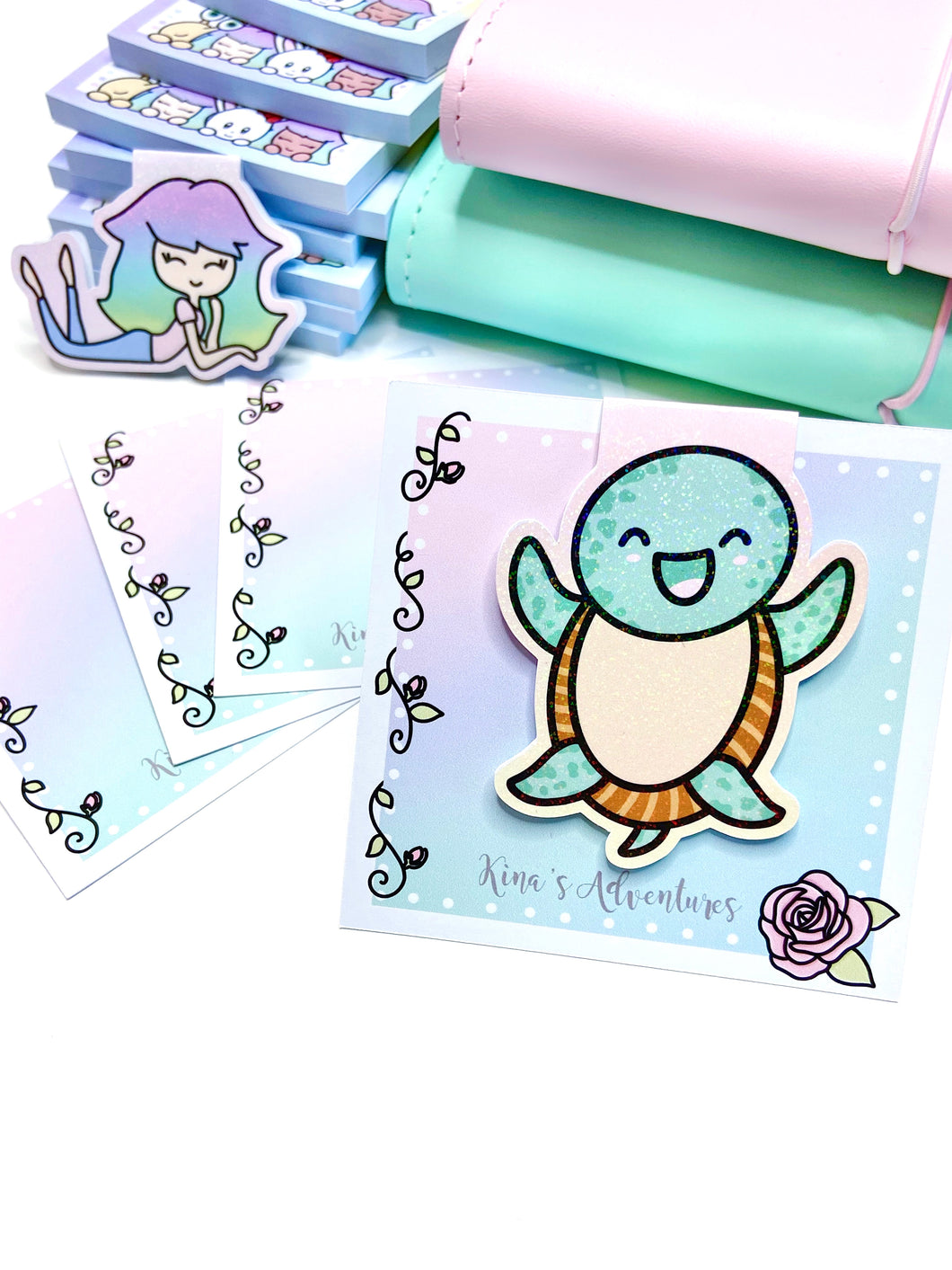 Magnetic Bookmark- Sweet Turtle