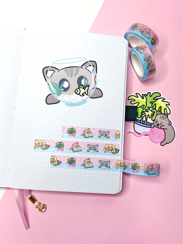 Capsule Collection - Washi - Cute Kittens
