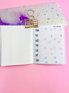 The original Hobonichi Stickers book - only date covers + washi