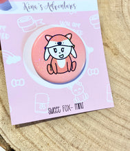 Load image into Gallery viewer, Button Pins- Sweet Fox