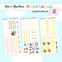 Load image into Gallery viewer, Printable - Hobonichi weeks - Honey
