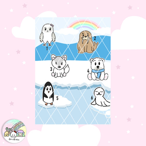 Die cuts -Arctic animals