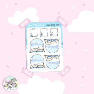 Capsule Collection - Winter Critters - Post it