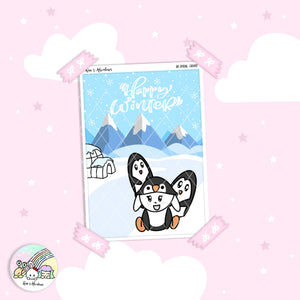 Capsule Collection - Winter Critters - Full page