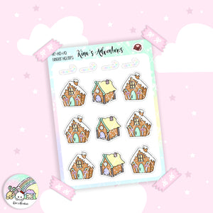 Christmas- Stickers Sheet- Ginger House