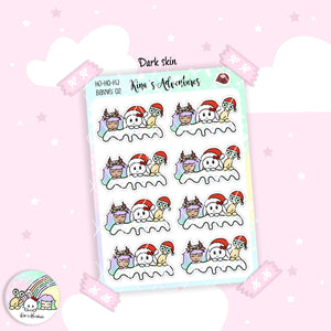 Christmas - Stickers Sheet- Banner