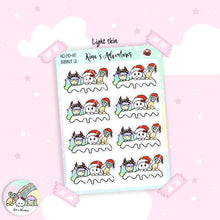 Load image into Gallery viewer, Christmas - Stickers Sheet- Banner