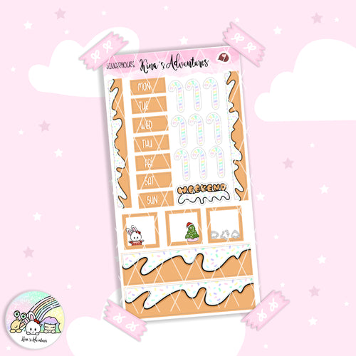 Christmas - Hobonichi weeks - Ginger House