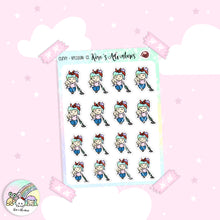 Load image into Gallery viewer, Stickers Sheet - Curvy Girl- Vacuum