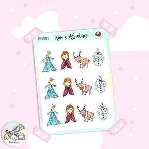 Stickers Sheet - Frozen 2