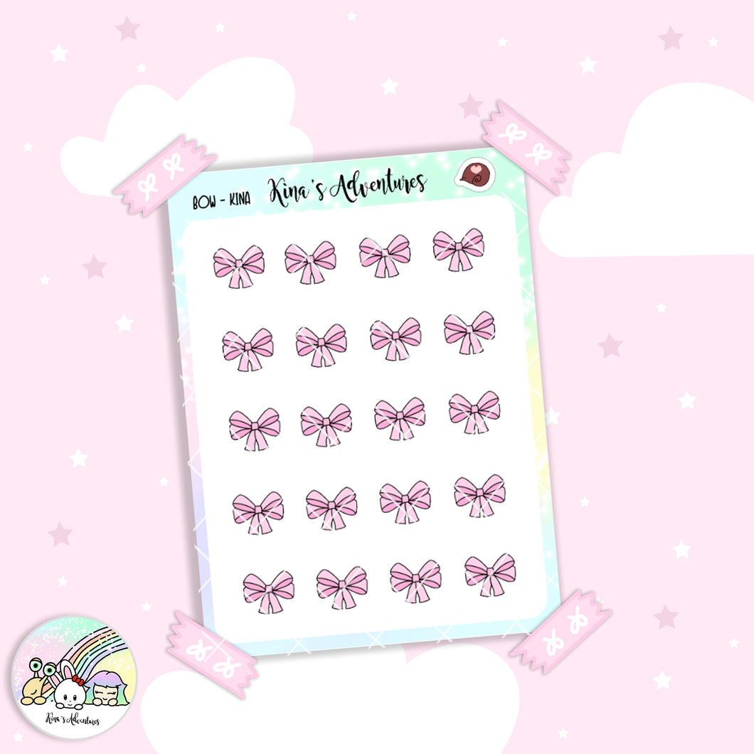 Stickers Sheet / Kina's bows
