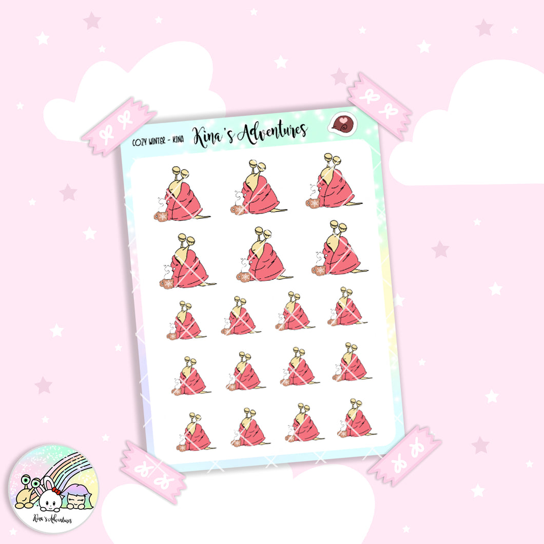 Stickers Sheet- Kina- Cozy Winter