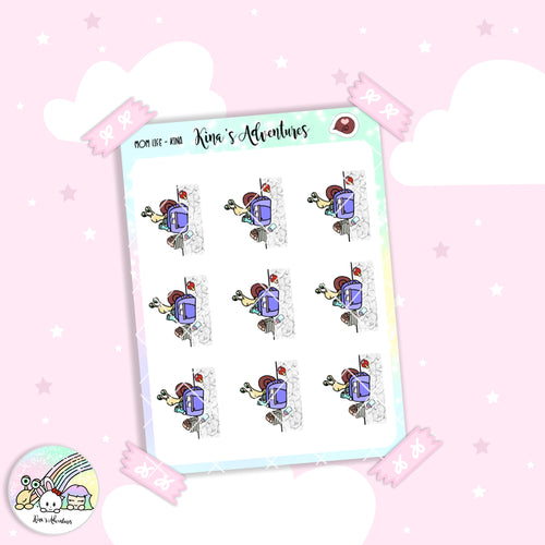 Stickers Sheet - Kina- Mom life 1