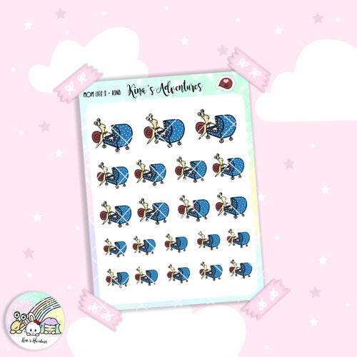 Stickers Sheet - Kina - Mom life 3