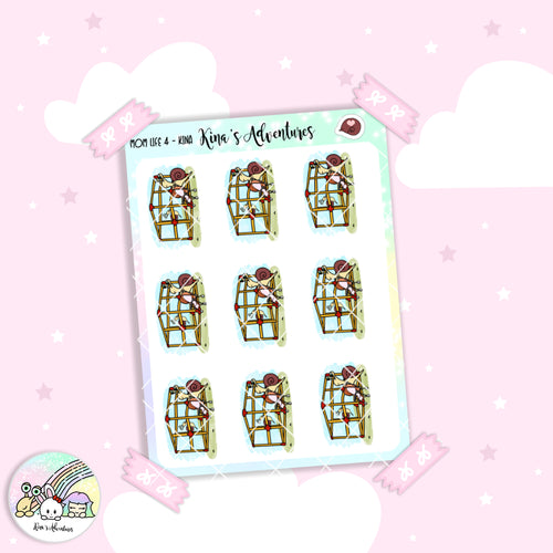 Stickers Sheet - Kina - Mom life 4