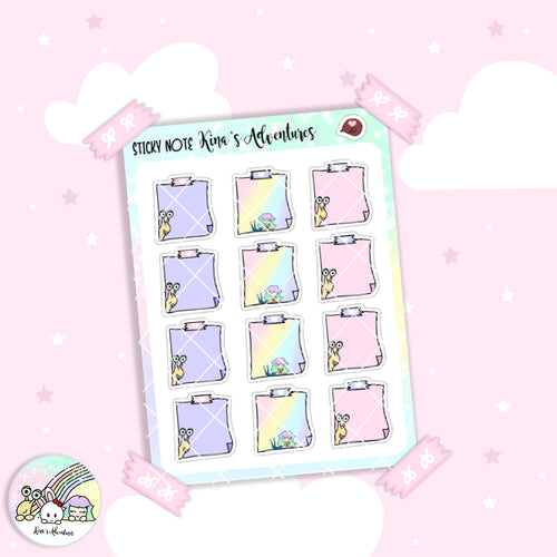 Sticker Sheet - Sticky note