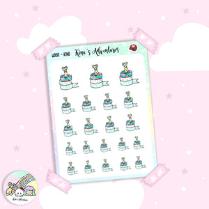 Stickers Sheet /Kina-washi
