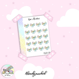 Stickers Sheet - Micro happy planner - 04