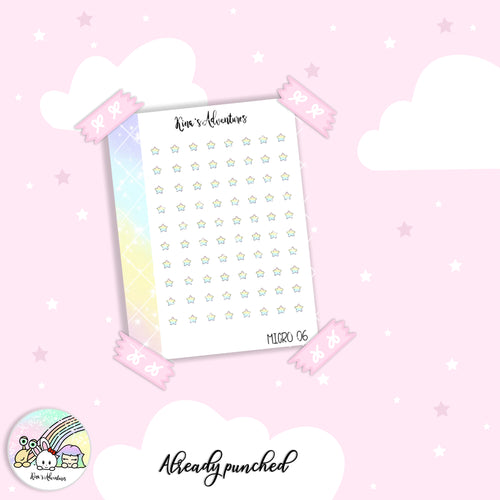 Stickers Sheet- Micro happy planner- 06
