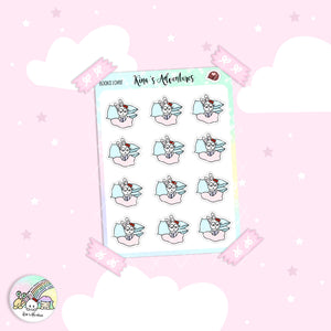 Stickers Sheet- Minu'- Books lover